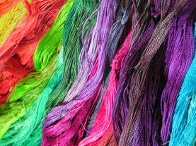 #5 Perle Cotton Dyed with Procion MX Dye