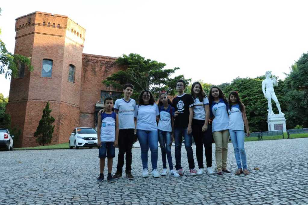 Alunos vencedores do concurso Resgate Histórico de Gravatá visitaram o Instituto Ricardo Brennand