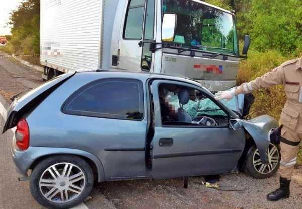 Acidente mata três pessoas e deixa cinco feridos no interior de Pernambuco