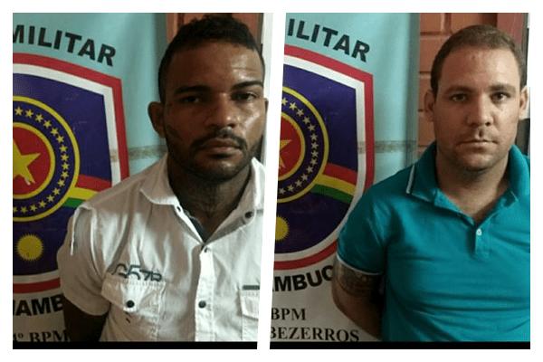 Assaltante são presos em distrito de Bezerros (PE)