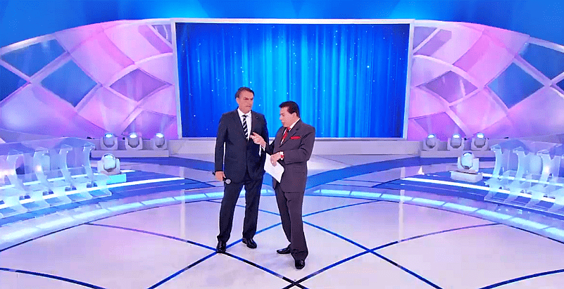Sílvio Santos aborda Reforma da Previdência durante entrevista com presidente Bolsonaro