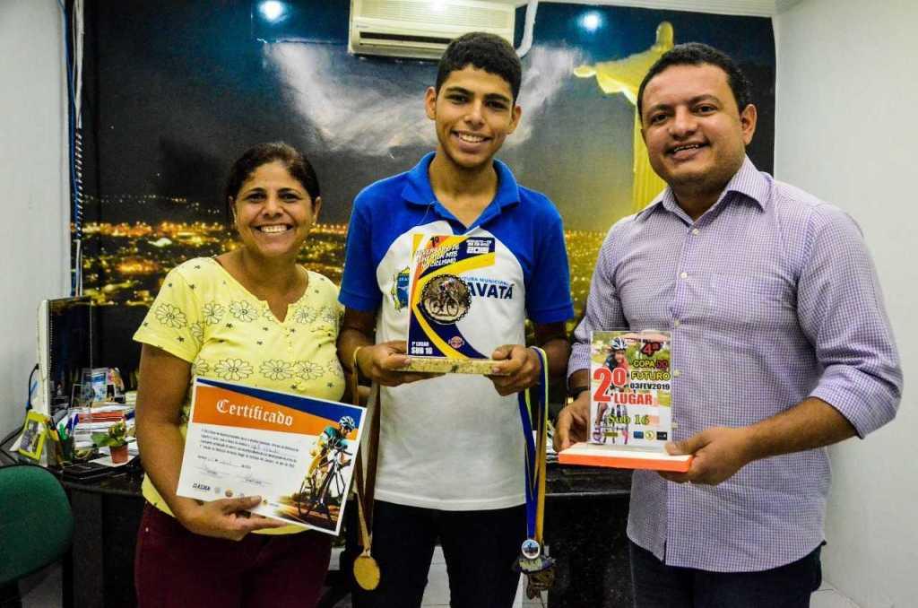 Ciclista gravataense se destaca em competições no Estado de Pernambuco