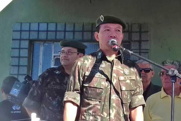 General do Exército Brasileiro visita Vitória de Santo Antão