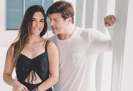 Paulo Ricardo se casa com fotógrafa da TV GLOBO e faz revelação em programa da emissora