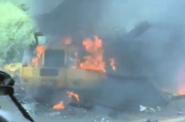 HOJE: Carro forte é explodido no interior de Pernambuco