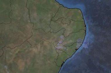 APAC emite alerta de chuva para zona da mata de Pernambuco