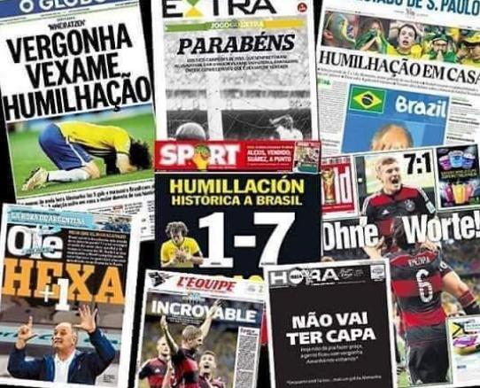 #7x1Day - Há cinco anos, Brasil tomava 7×1 da seleção da Alemanha
