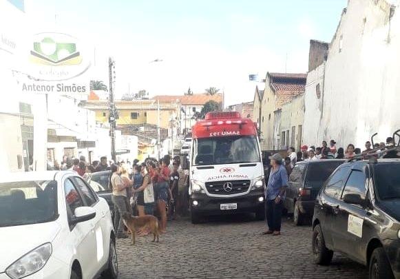CARUARU: Homem assassinado após deixar filho em creche; mulher foi baleada e socorrida