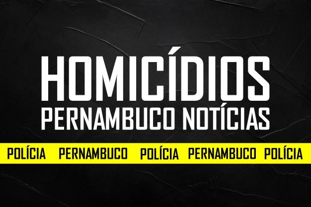 Cinco homicídios são registrados nas últimas 24 horas em Pernambuco