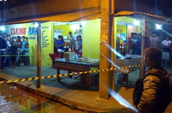 Comerciante assassinado com tiro no ouvido; crime foi registro no distrito de São Domingo