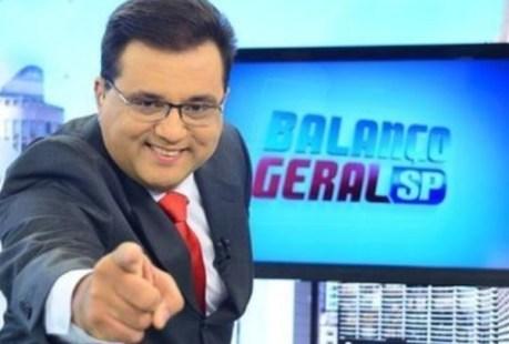 Geraldo Luís assume programa Balanço Geral a partir do dia 30 de setembro
