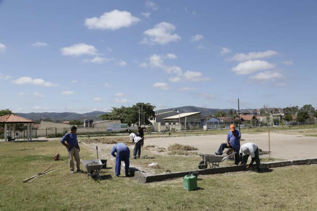 Prefeitura de Gravatá dá início à restauração das áreas de esporte e recreação do parque da cidade