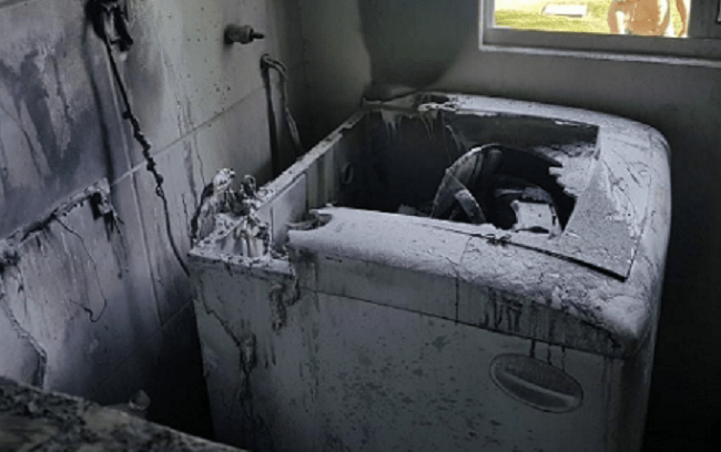 Jovem morre após levar choque elétrico em tanquinho de lavar roupas