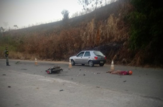 Terrível acidente mata homem na PE-126 em Catende