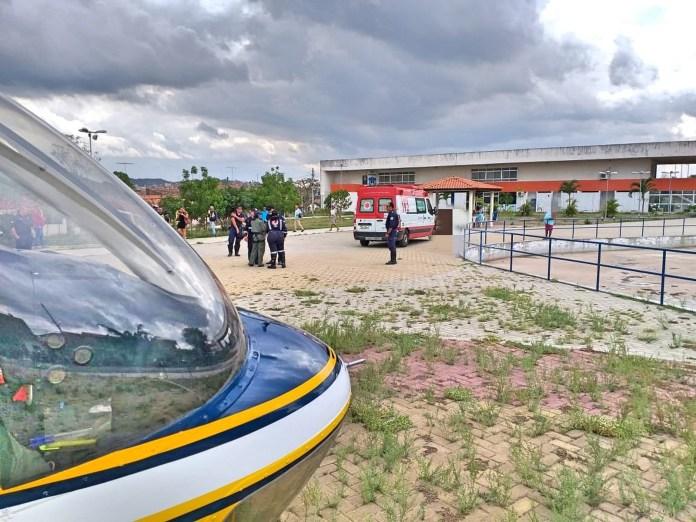 Jovem vítima de explosão em Gravatá sofreu fraturas e já está no HR