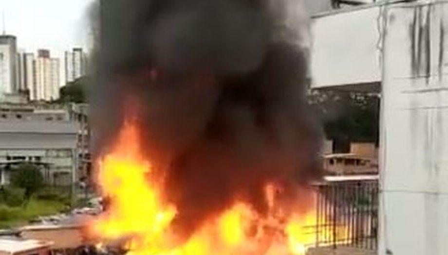 Incêndio é registrado em Jaguaré e atinge 60 moradias