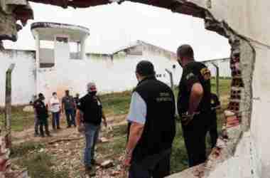 Limoeiro: Quatros dos 27 presidiários que fugiram foram recapturados