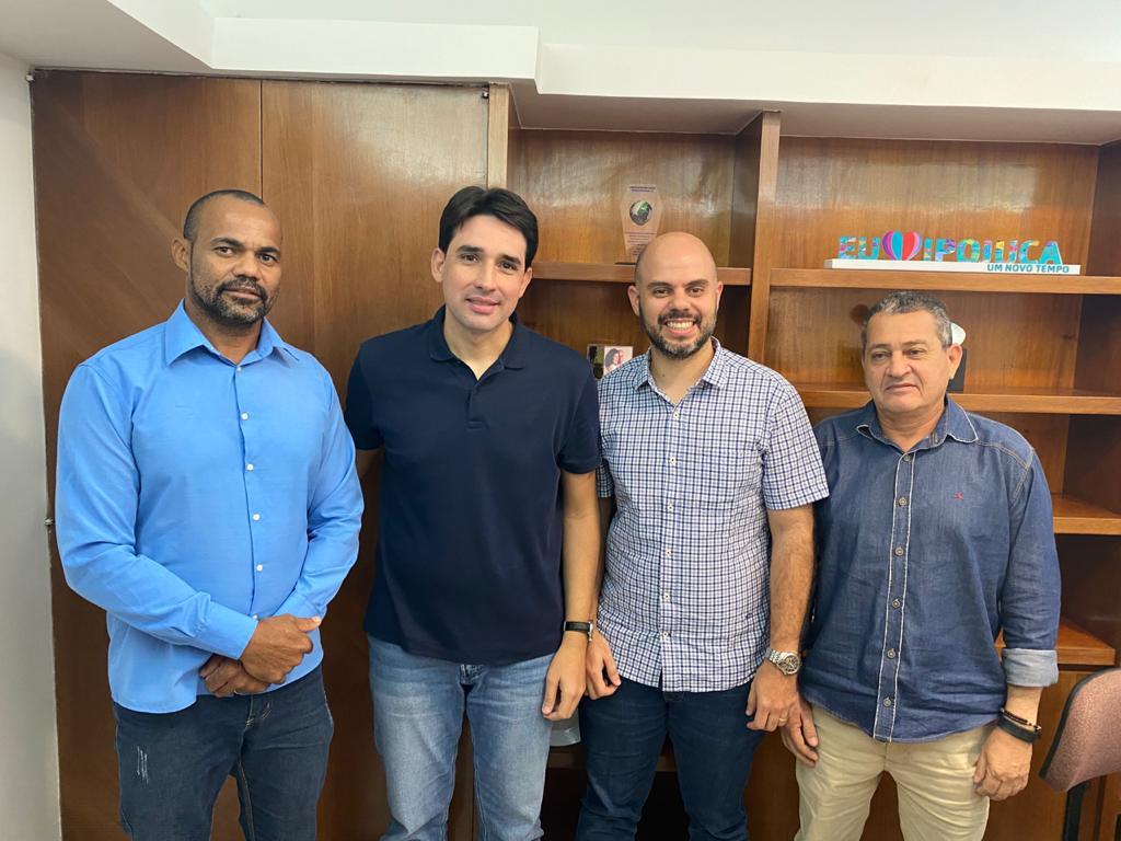 Silvio Costa Filho e Romero Sales Filho firmes na chapa em Tamandaré