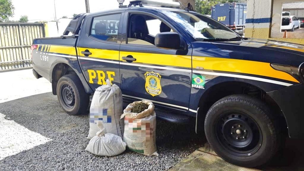 Quatro pessoas são detidas com 28 Kg de maconha em Caruaru