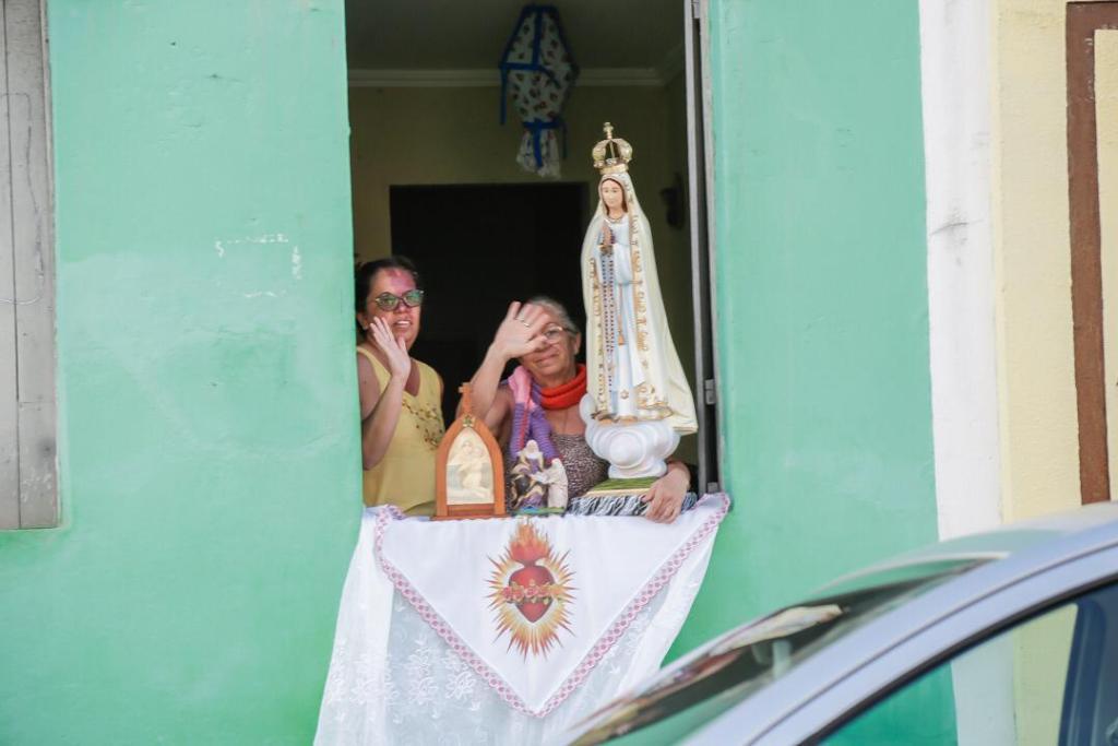 Gravatá: Joaquim Neto participa da carreata em homenagem a padroeira Senhora Sant'Ana