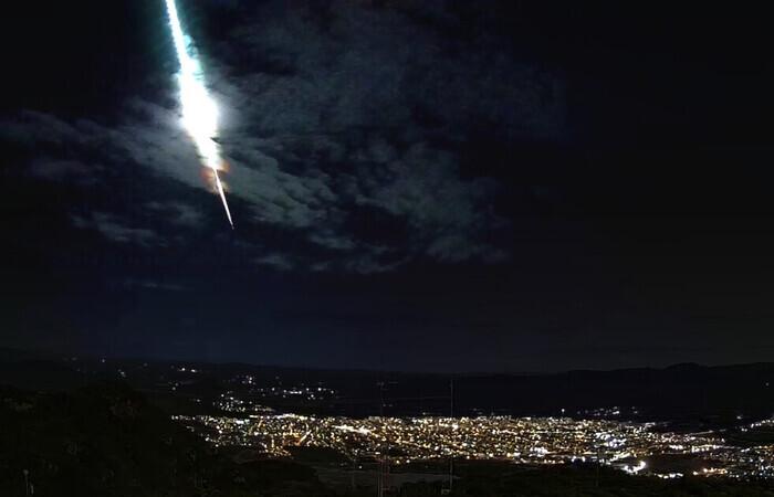 OFICIAL: Clarão e explosão no sertão de Pernambuco foi uma meteoro raspando a terra