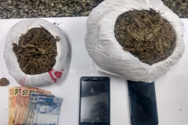 Olinda: Trio é preso com drogas em Aguazinha