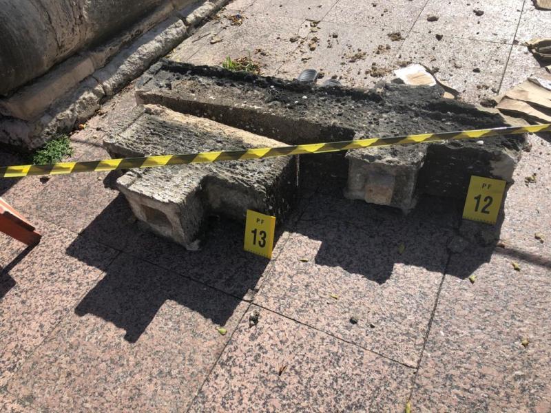 Preso suspeito de quebrar cruz histórica de Olinda