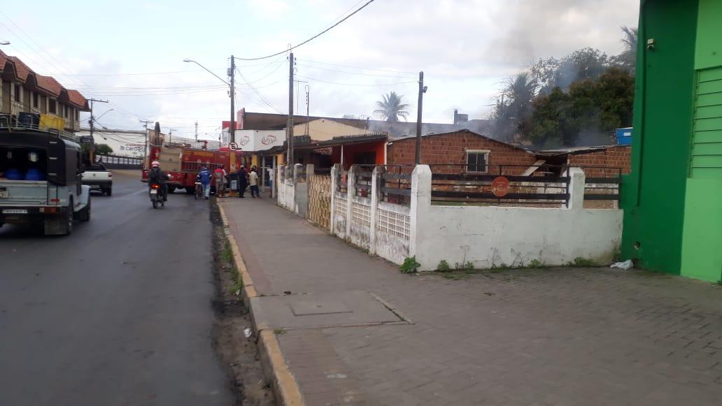 Gravatá: Princípio de incêndio é registrado em estabelecimento comercial