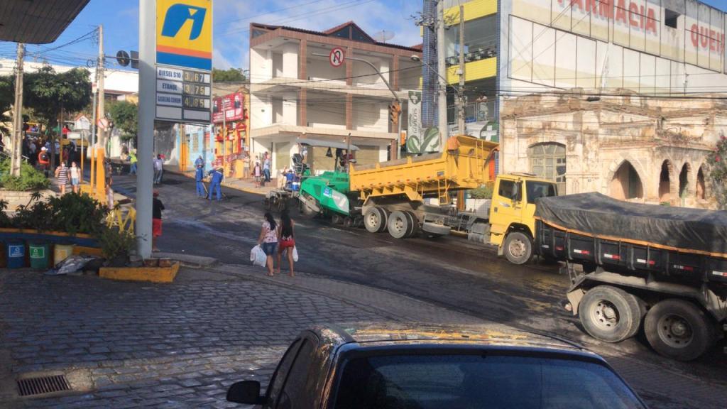 Gravatá: Agamenon Magalhães com um asfalto de qualidade
