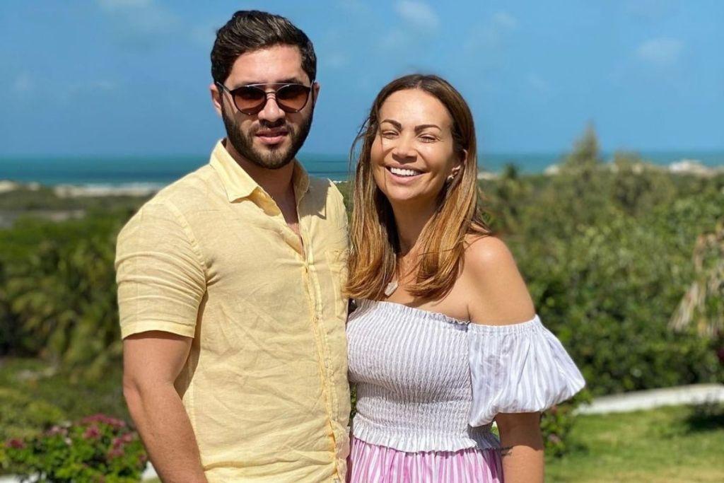 Solange Almeida fala sobre namoro com Monilton Moura, 16 anos mais jovem que ela