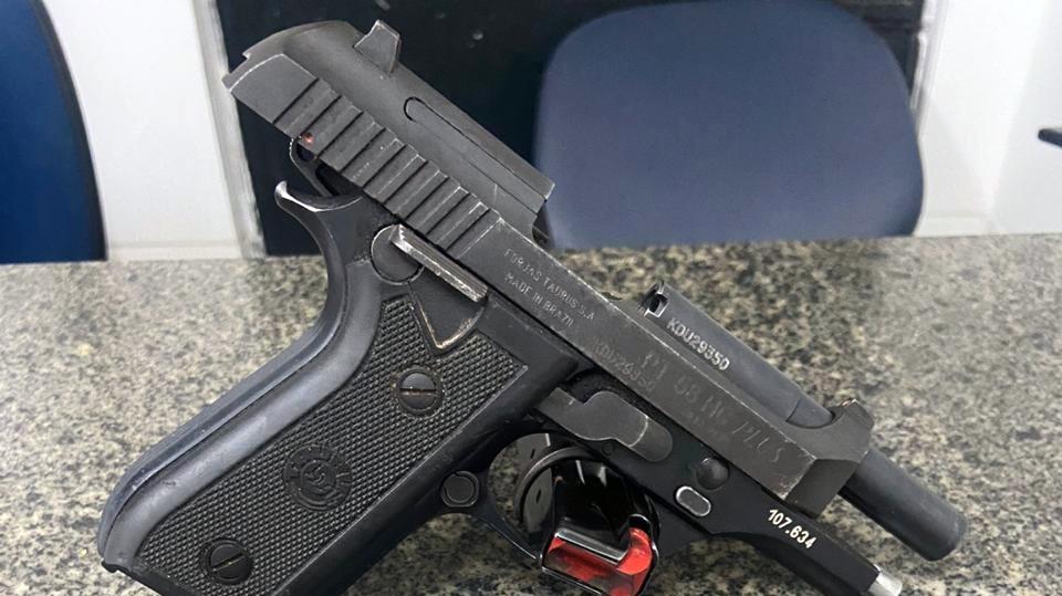 11° BPM apreende arma de fogo na Zona Norte do Recife