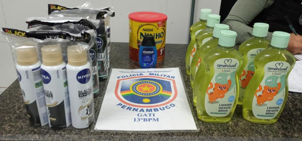 Recife: PM prende suspeito de furtar farmácia no Espinheiro