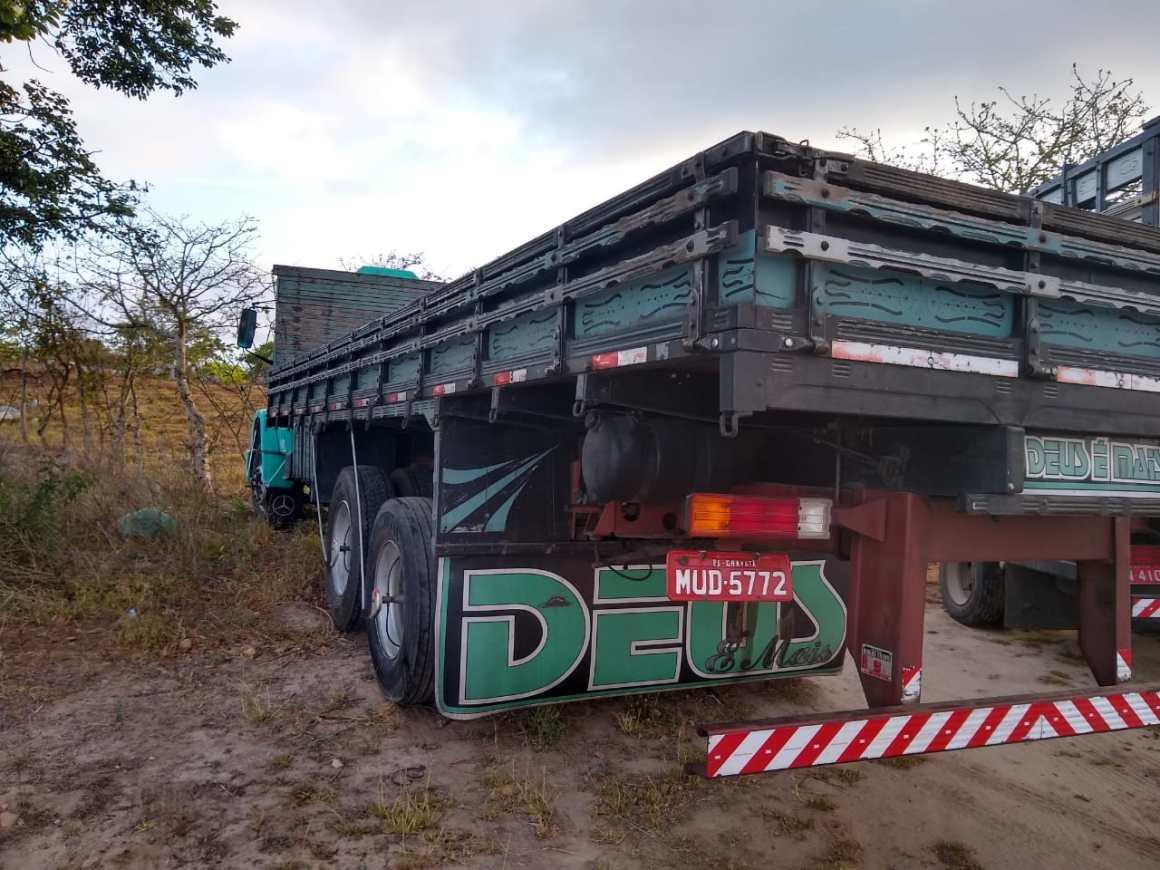 Caminhão roubado em Gravatá foi localizado em Agrestina