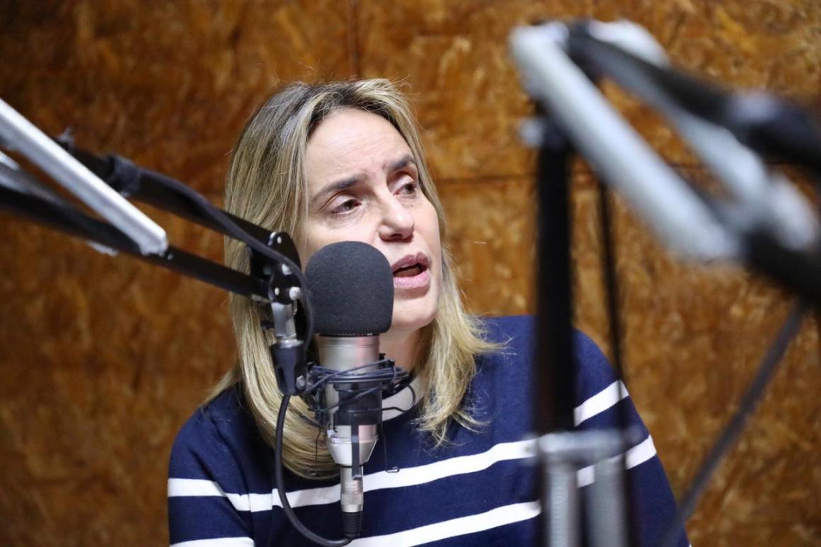 """""""Eu fico na presidência do PSDB até o fim da missão que me foi confiada,"""" diz Alessandra Vieira"""