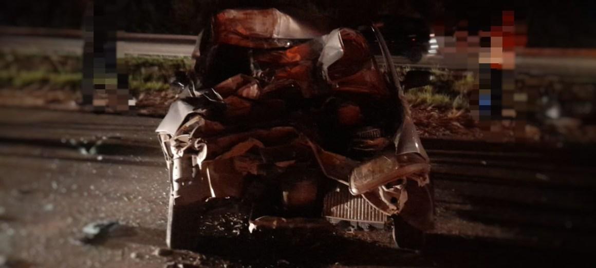 Acidente grave registrado na BR-101 em Jaboatão; veja fotos