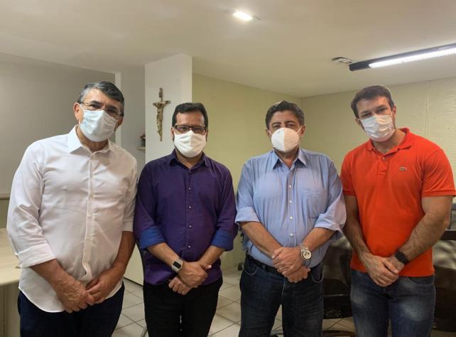 Gravatá: Joaquim Neto se encontra com novo secretário de saúde