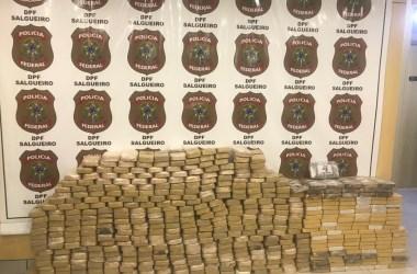 Polícia Federal bate recorde de apreensão de cocaína em Pernambuco no ano 2020