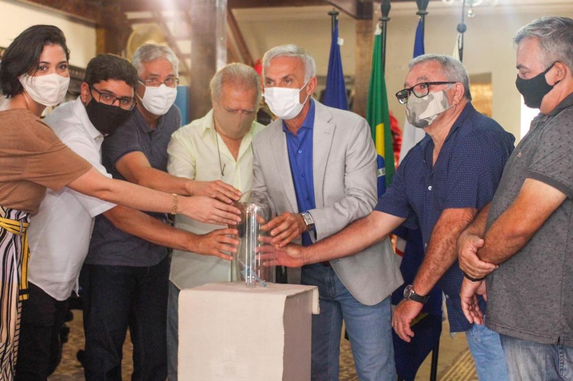Vacina contra o coronavírus agora é peça de museu em Vitória de Santo Antão