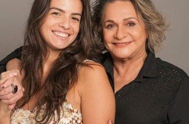Atriz Fafy Siqueira é alvo de preconceito após postar foto com namorada trinta anos mais jovem