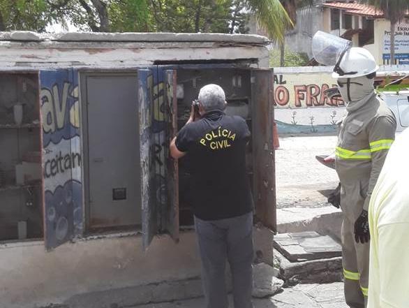 Quatro pessoas presas furtando energia da CELPE em Olinda