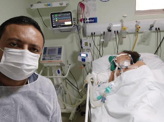Após sofrer AVC, morre a mãe do vereador Léo do AR