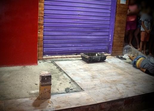Pedreiro assassinado a tiros quando trabalhava assentando cerâmicas em Caruaru