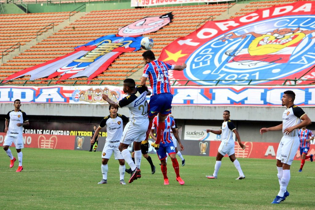 Vivendo inferno astral, Sport Recife é derrotado pelo Bahia por 4X0