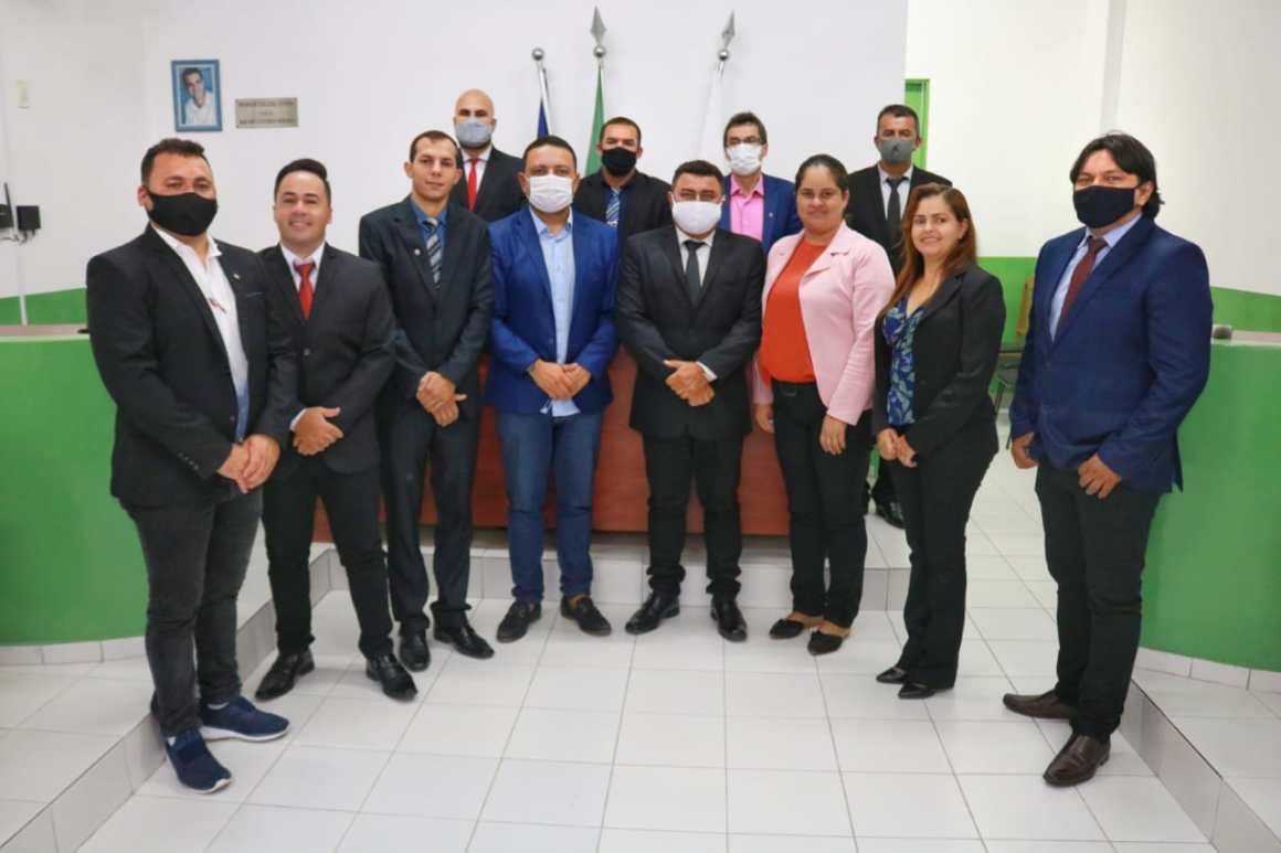 Vereadores de Tacaimbó declaram apoio a Léo do AR como presidente da UVP