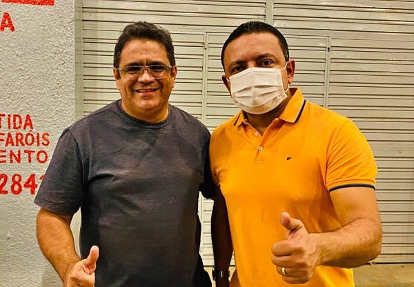 Após encontro com vereador Zé Carlos, Léo do AR confirma apoio da Câmara Municipal de Salgueiro