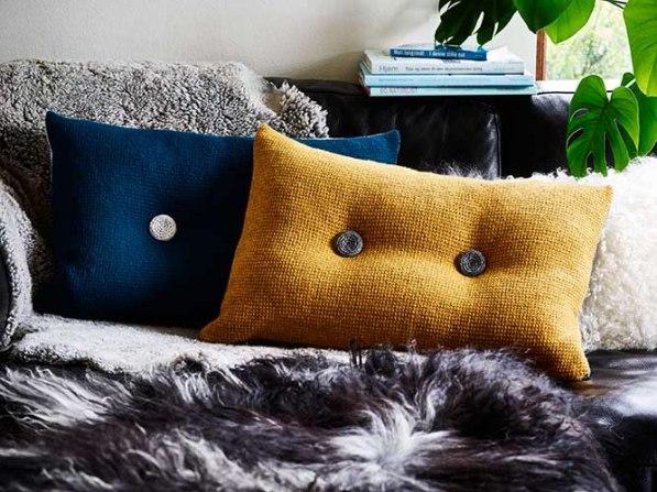 Two-colour Cushion