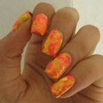 Neon Dry Marble Pern S Polish A Nail Blog