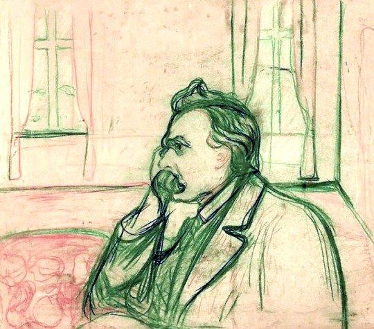 Nietzsche enligt Munch