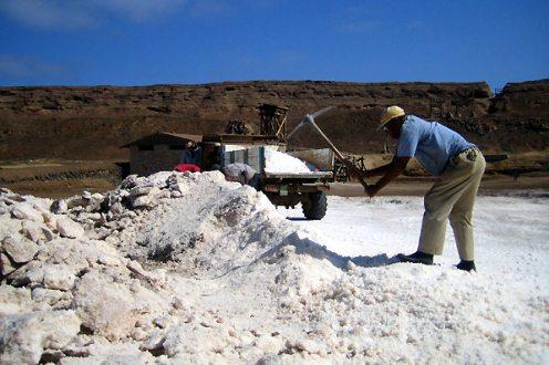 Sól na wyspie Sal.