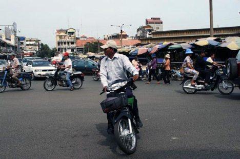Phnom Pehn - stolica Kambodży